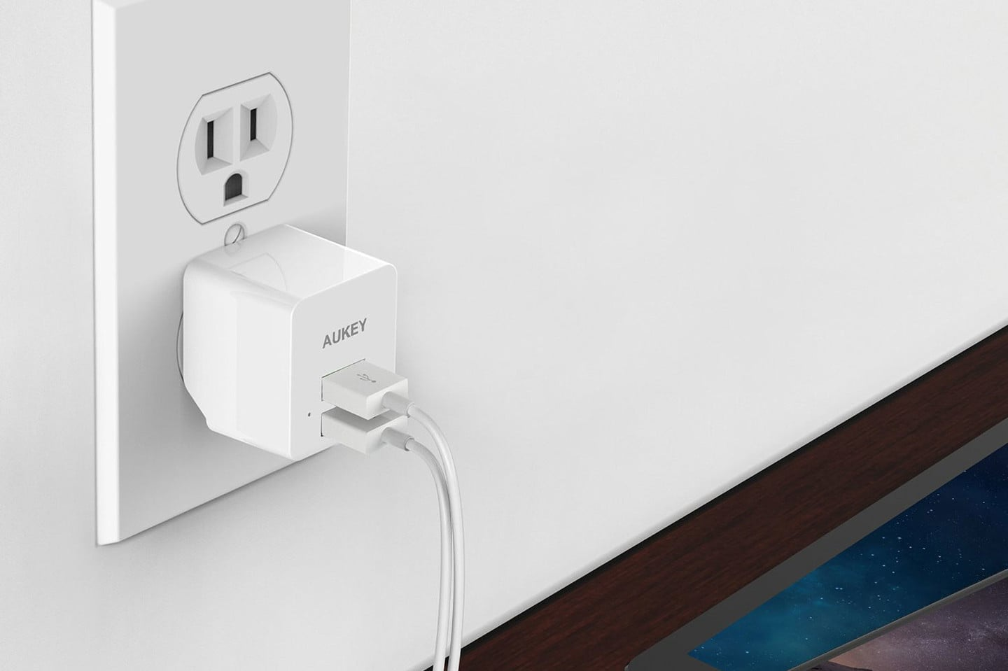 AUKEY Dual USB Wall Charger