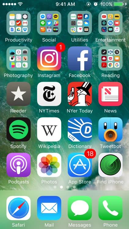 Find My iPhone access iOS app