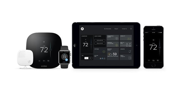 Control the Ecobee3 from anywhere