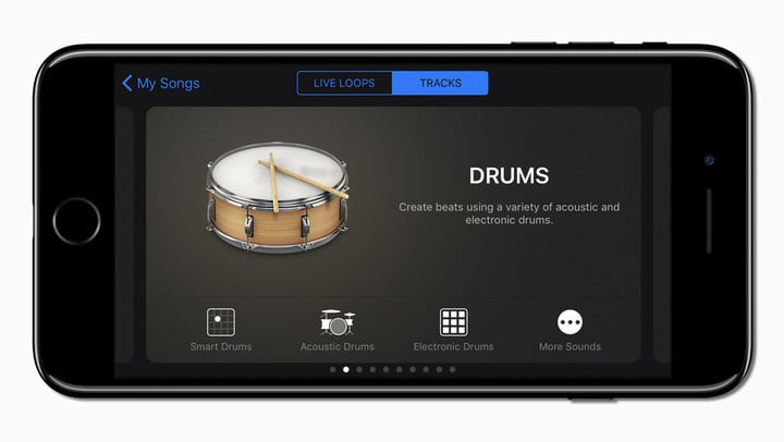 The app features a redesigned sound browser to help make it easier to explore touch instruments.