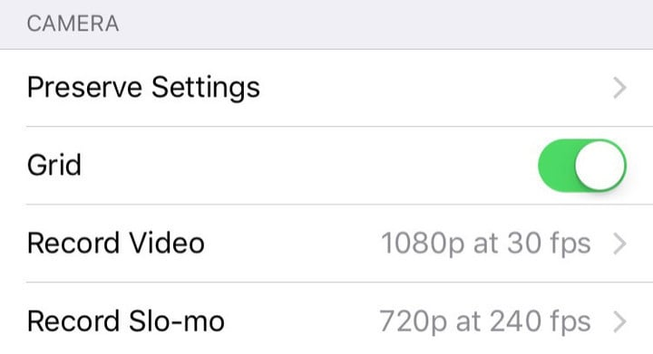 Getting your settings right will greatly improve your iPhone photos