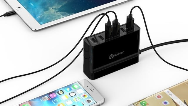 This iClever BoostCube+ 6 Port USB Wall Charger is 70 Percent Off