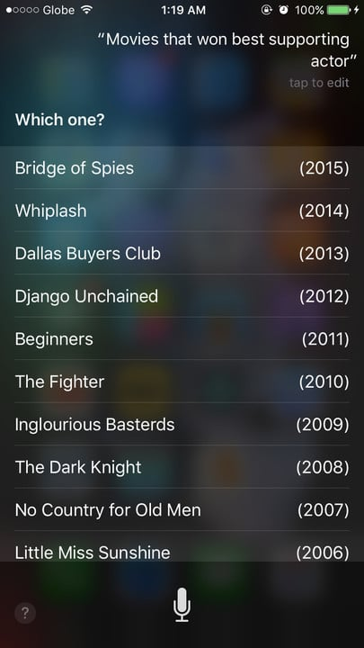 Siri movie Easter eggs best supporting actor