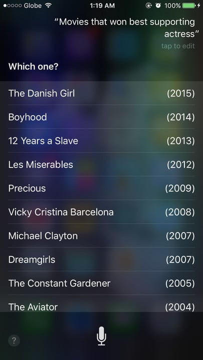 Siri movie Easter eggs best supporting actress