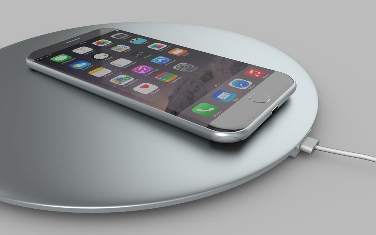"""iPhone 8"" Wireless Charging"