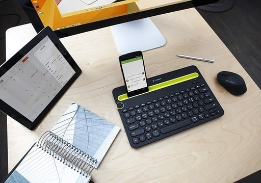 This Logitech K480 Bluetooth Multi-Device Keyboard is Just $23