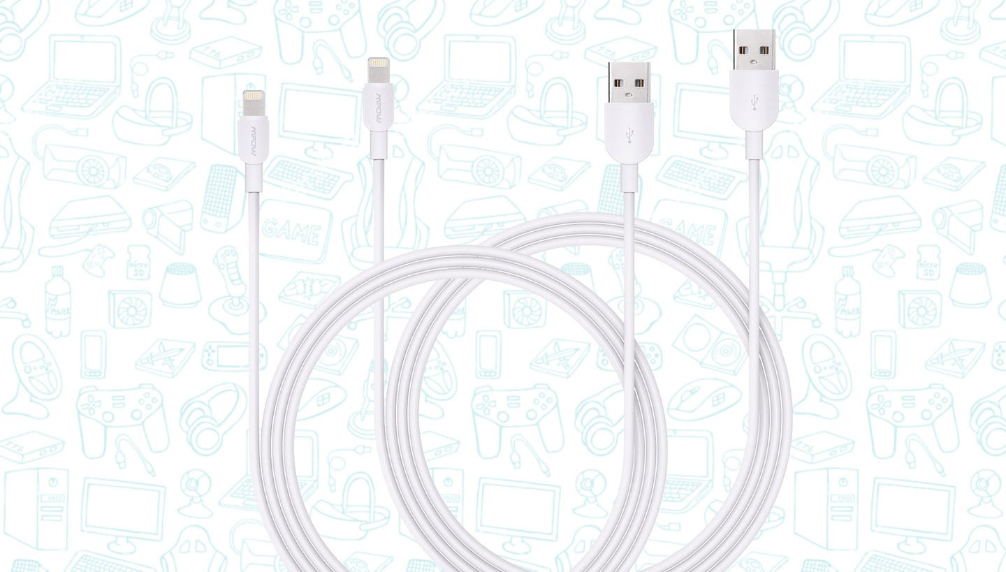 Get Two 10ft MFI Lightning Cables for Just $10