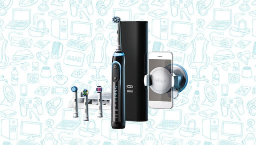 Grab the Best Selling Smart Oral-B Genius Pro 8000 Toothbrush for $20 Off