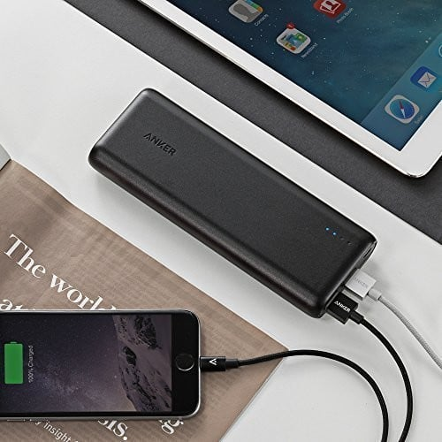 Get Anker PowerCore 20100 Portable Fast Charging Battery for 58% Off