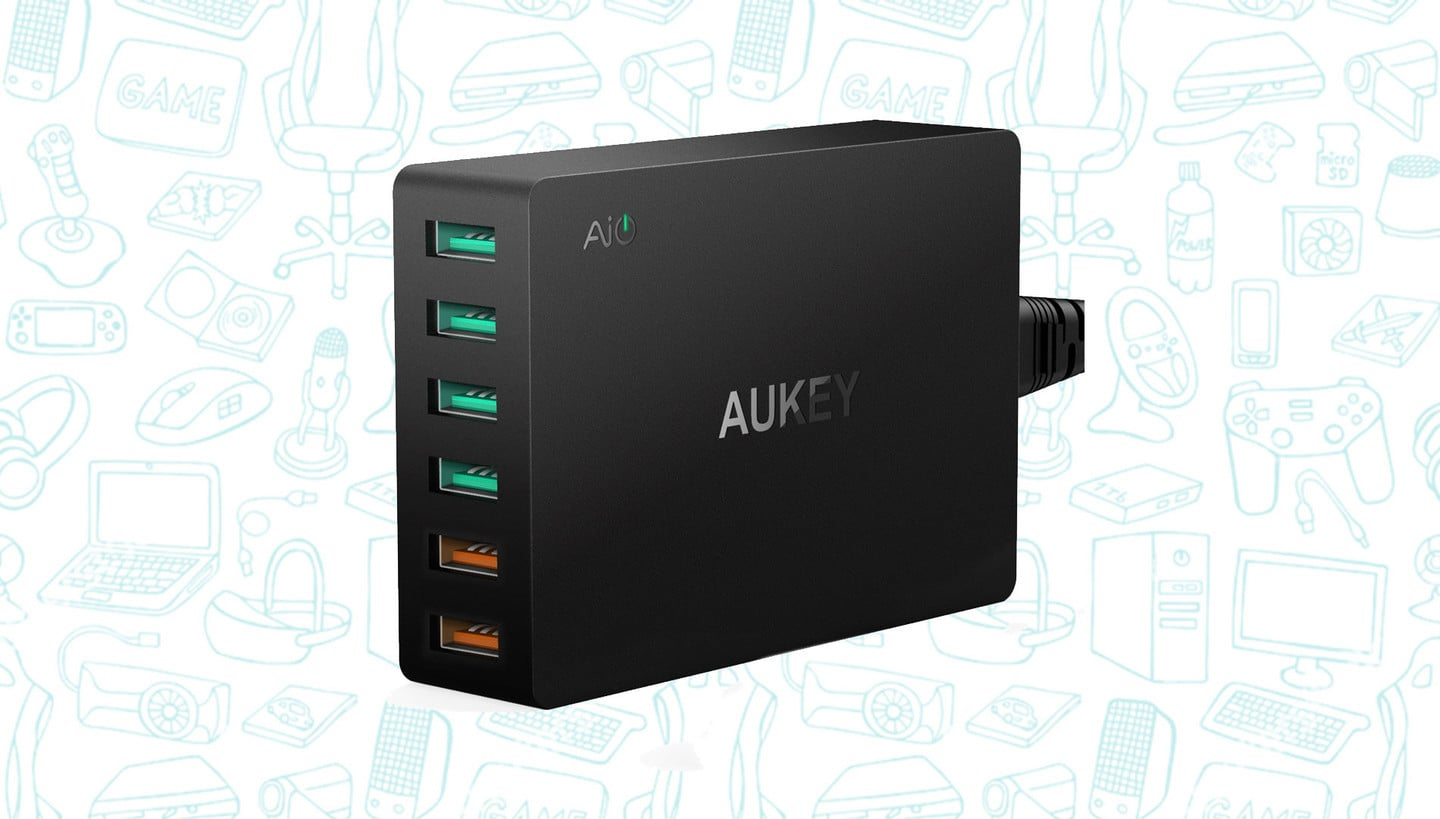 Charge 6 Devices at Once for Under $20