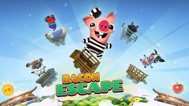 Help Adorable Animals Avoid Their Fate With Bacon Escape