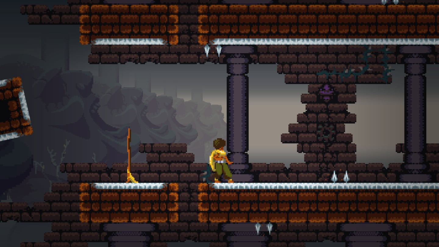 MetroidVania action in Dandara