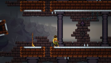 MetroidVania Action Rules the Day in Dandara for iOS