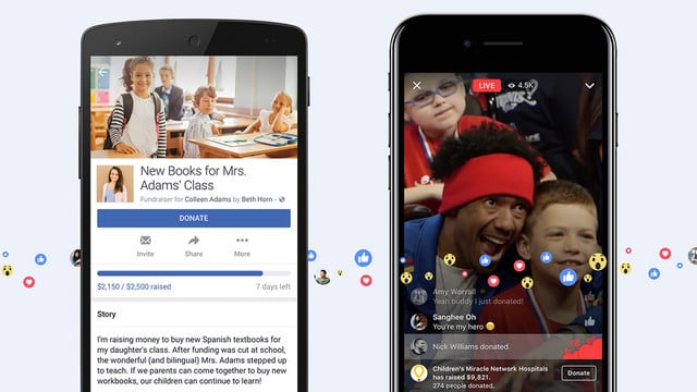 Facebook Crowdfunding Feature Lets Users Hold Personal Fundraisers