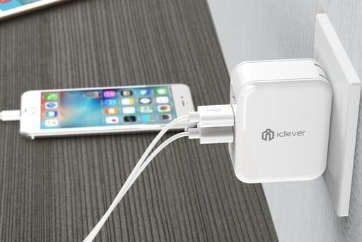 Charge 3 Devices at Once with this $12 iClever Boostcube