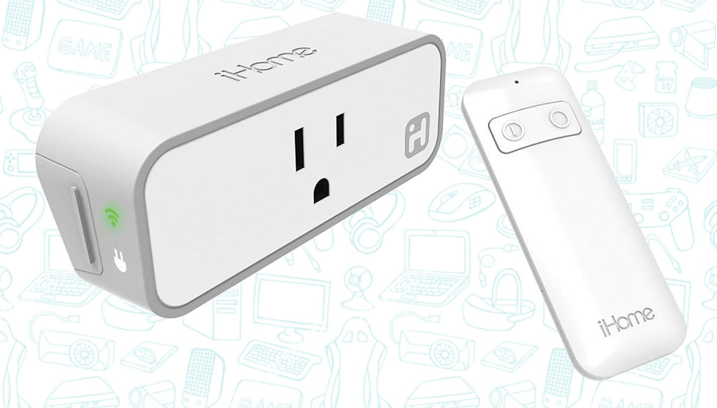 Control Your Appliances with Siri or Alexa with the iHome WiFi Smart Plug