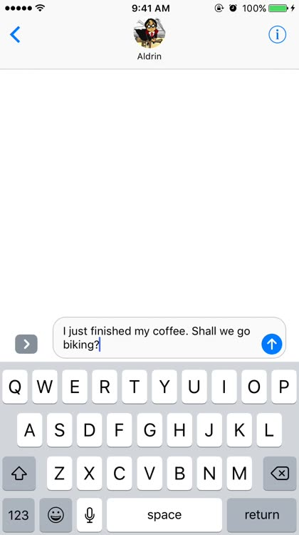 iMessage tricks tap to replace-emoji
