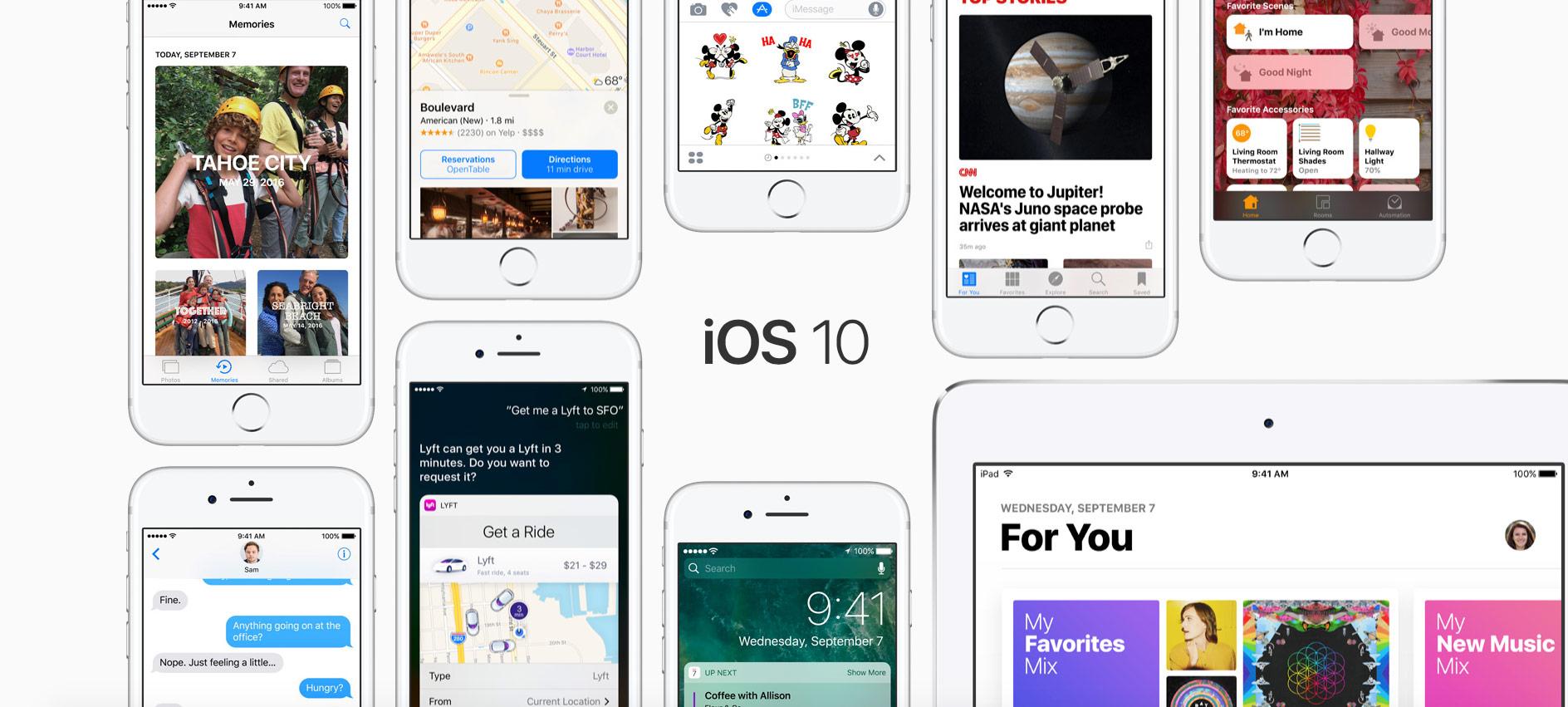Apple Seeds First Beta of iOS 10.3.2, tvOS 10.2.1, watchOS 3.2.2