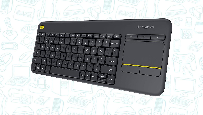 Grab the Logitech Wireless K400 Plus Keyboard for Just $18