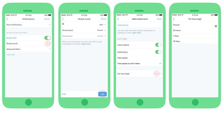 Users will soon be able to take advantage of an expanded mute future using the service's official app.