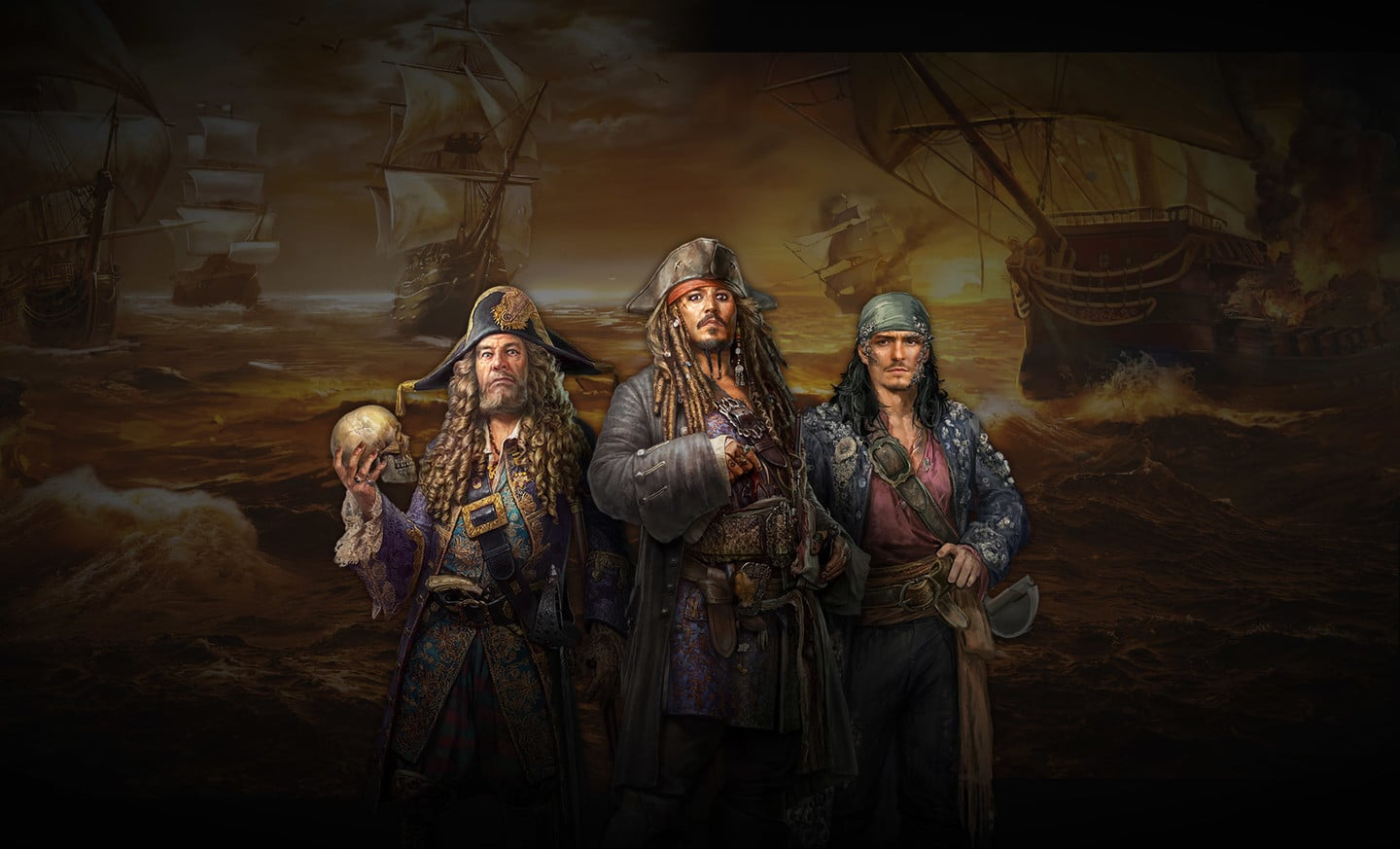 Pirates of the Caribbean mobile game