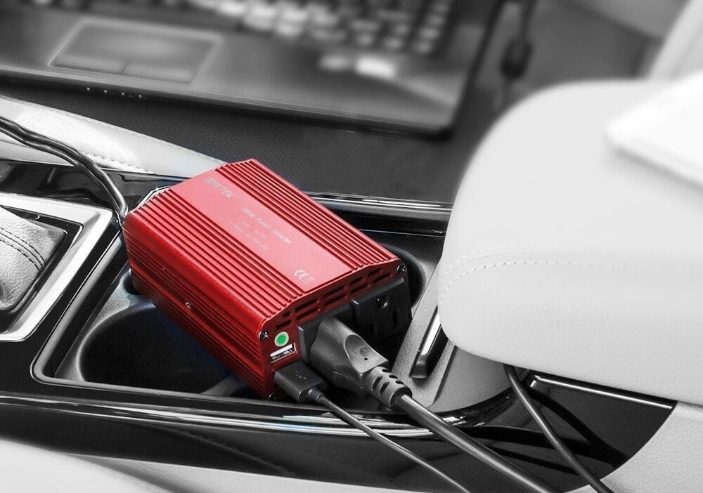 Charge Your Laptop in the Car with this $18 300W Power Inverter