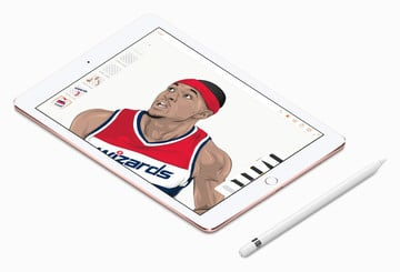Take a Look at These Awesome Illustrations of NBA Stars Created on an iPad Pro