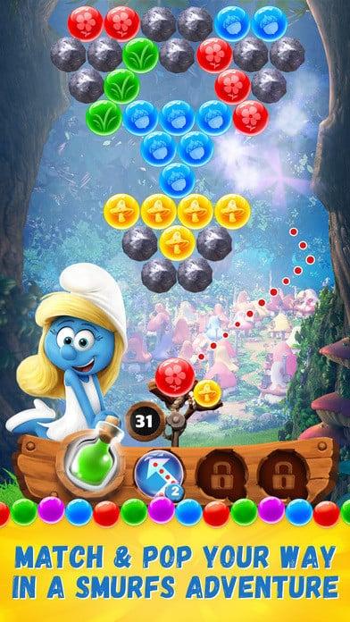 Smurfs Bubble Story 1