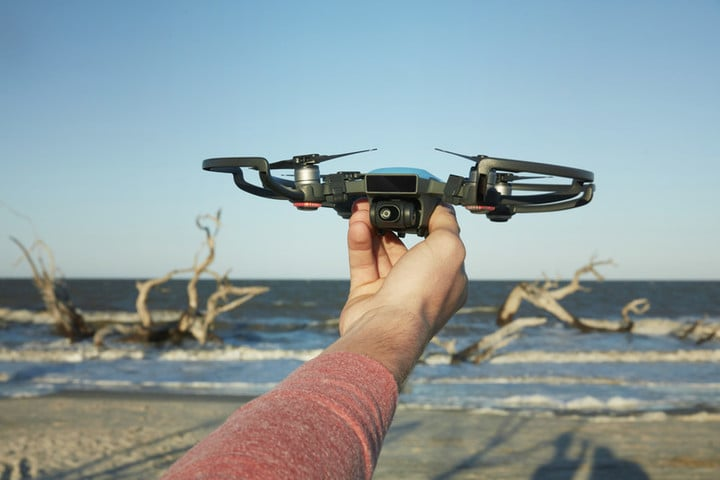 The DJI Spark weighs less than 11 ounces.