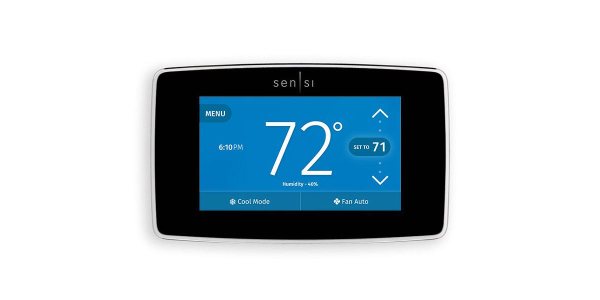 Emerson Unveils the HomeKit-Compatible Sensi Touch Wi-Fi Thermostat