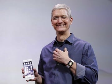 Tim Cook Reportedly Testing Glucose Monitoring Device that Connects to Apple Watch