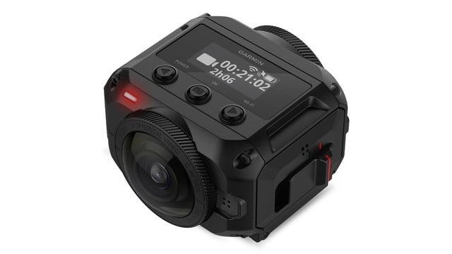 Garmin Introduces iPhone-Connected VIRB 360 Action Camera