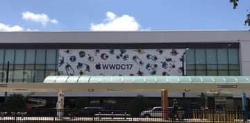 The Excitement Is Building as Apple Installs WWDC Decorations