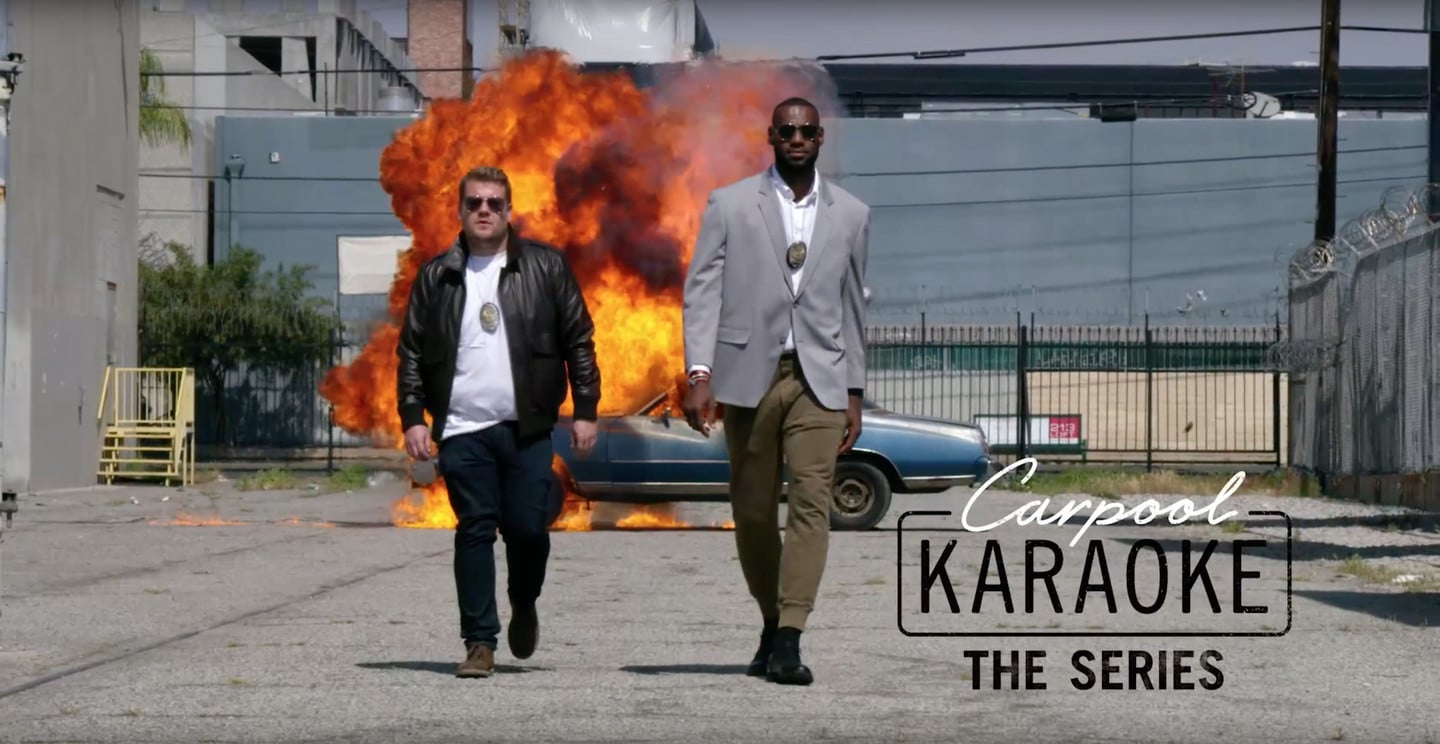 Apple Music's Teaser For Carpool Karaoke Has Less Corden & More Celebs!