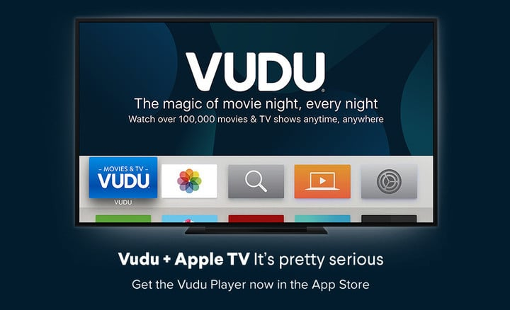 Vudu on Apple TV Becomes a Reality With One Key Restriction