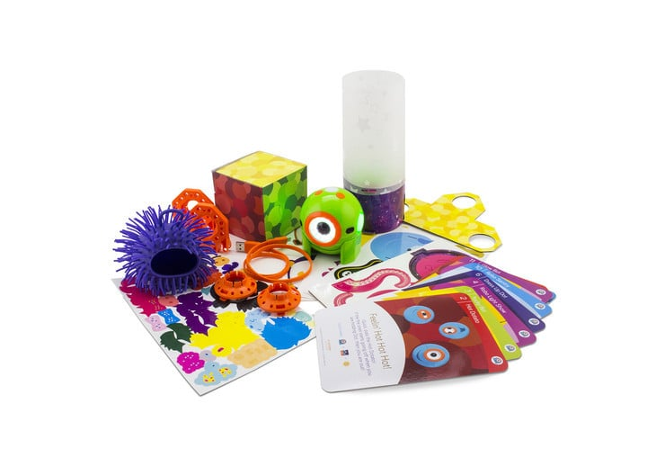 The Dot Creativity Kit offers fun challenges for younger children that help teach coding basics.