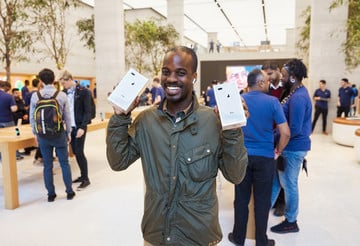 Apple Celebrates iPhone 8 Launch, Looks Ahead to iPhone X