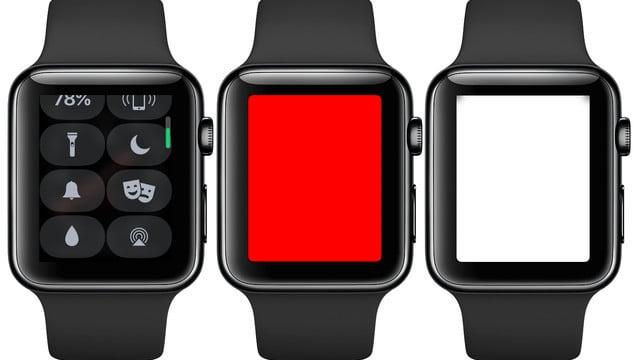 Using the Apple Watch Flashlight Mode in watchOS 4