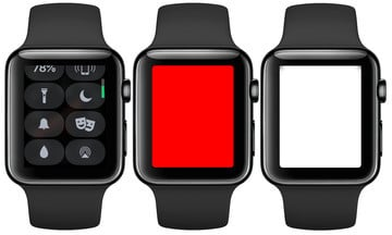 Using the Apple Watch Flashlight Mode in watchOS 4