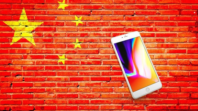 iPhone 8 in China Helps Apple's Sales Rebound, but It Might Not Last