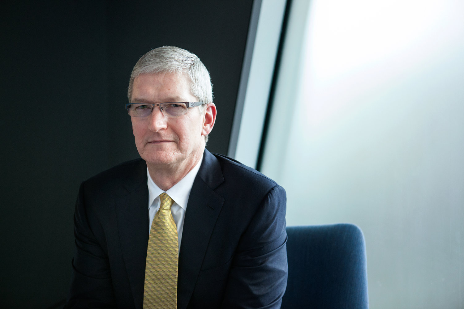 Tim Cook Meets With Key iPhone X Supplier, Visits Normandy in France