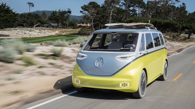 A New Electric VW Bus Is Coming and Could Use an iPad for Controls