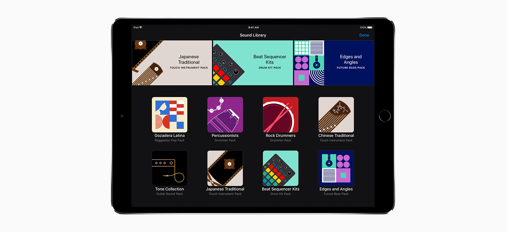 Garageband For Ios Update Brings A New Sound Library And