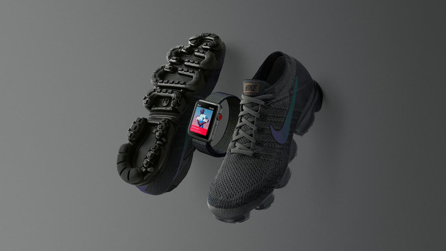 Nike Announces Limited Edition 'Midnight Fog' Apple Watch, Air VaporMax Sneaker