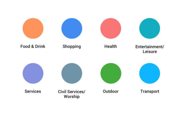 A look at some of the new icon colors.