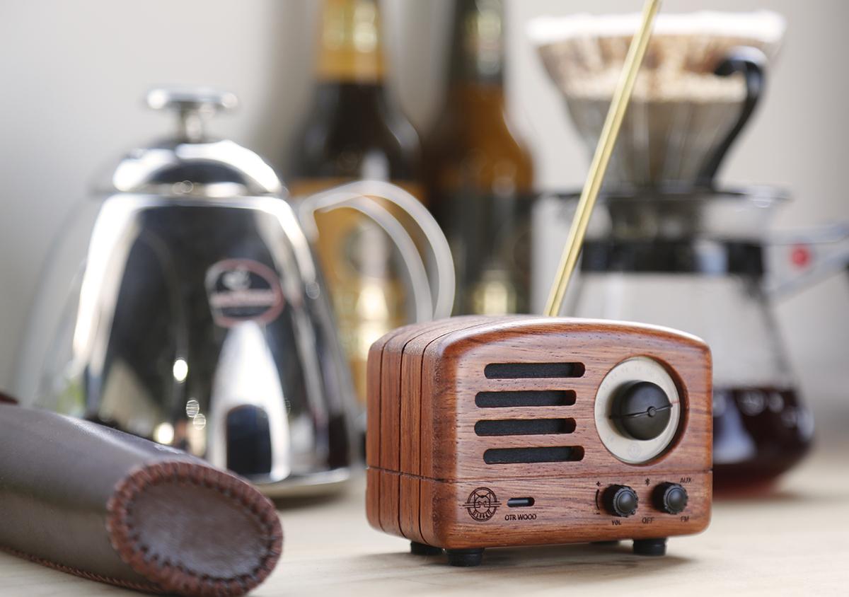 Celebrate Radio Caroline With the MUZEN OTR Wood Speaker