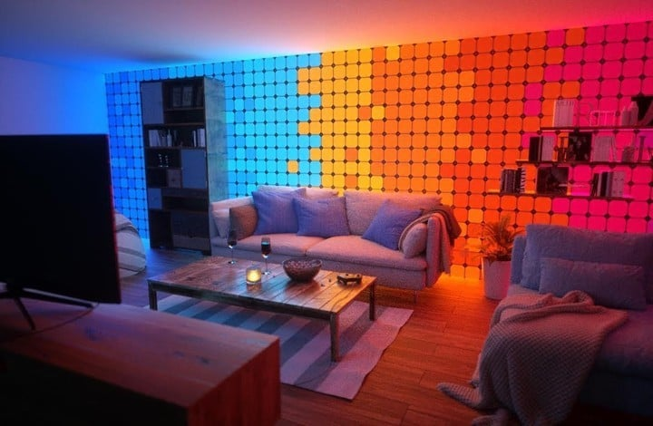 A look the new Nanoleaf panels.