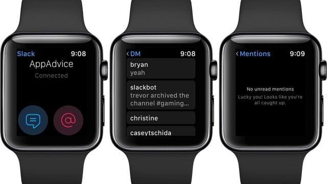 Work Communication App Slack Remove its Apple Watch App