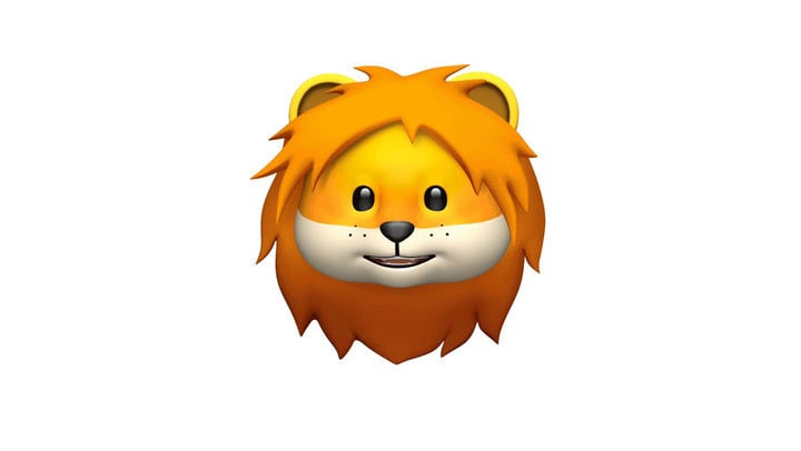 Four new Animoji, including a lion, will arrive for the iPhone X.