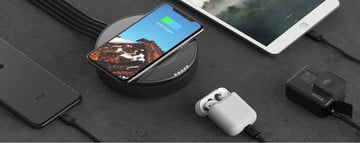 Save Time With the Clutter-Free Nomad Wireless Charging USB Hub